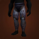 Nine-Tailed Legguards, Crimson Bloom Legguards, Cosmicfire Legwraps, Crimson Bloom Legguards Model