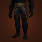 Swiftflight Leggings, Leggings of the Impenitent, Leggings of the Burrowing Mole, Vicious Leather Legs Model