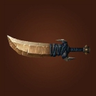 Gleaming Iceblade, Shimmering Sabre, Yoke Slasher, Craggy Machete Model