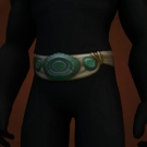 Melador's Mercurial Wrap, Contender's Leather Belt, Hozen-Speed Waistband, Forgotten Waistband, Tidesplitter Waistband Model