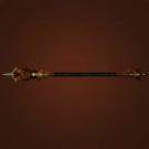 Rust-Covered Polearm, Scourge War Spear Model