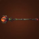 Engraved Staff, Kyparitic Staff, Scavenged Pandaren Staff, Immaculate Pandaren Staff Model