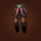 Leggings of the Faceless Shroud Model