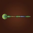 Hill's Eye Wand, Rejuvenating Scepter, Wand of Chilled Renewal Model