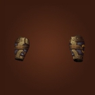Steel Bear Trap Bracers Model