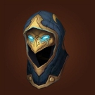 Hood of Lethal Intent, VanCleef's Helmet of Triumph, Peacebreaker's Leather Helm Model