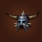 Arcane-Shielded Helm, Faceguard of the Hammer Clan Model