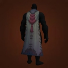 Snowfall Shawl, Snowdrift Drape, Snowblind Cape, Snowmask Cloak, Snow Boulder Manteau, Streamtalker Cloak of Rage, Streamtalker Cloak of Rage Model