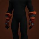 Raider's Gauntlets, Marshcreeper Gloves, Junior Technician 3rd Grade Gloves, Inferno Forged Gloves Model