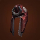 Garmaul Helmet, Skom Helm, Orca Helmet, Trapper Helm, Rellwyn's Crimson Cowl Model