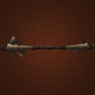 Peat Greatstaff, Moonrest Garden Stave, Hardened Vine of the Mauler, Minion Staff Model