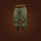 Spellbinder Pants, Feralfen Pants Model