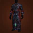Robe of Midnight Down, Fire Support Robes, Robes of the Chromatic Hydra, Robe of Midnight Down Model