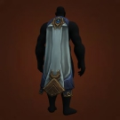 Drape of Frozen Dreams, Mistwoven Windcloak, Darkshadow Drape, Purifier's Silken Cape, Blackfire Cape, Scorchburn Cloak Model