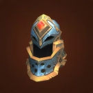 Relentless Gladiator's Scaled Helm, Relentless Gladiator's Ornamented Headcover Model