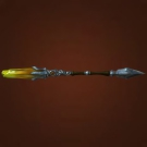 Lunarglow Staff, Telmor Crystal Staff Model