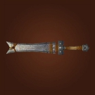 Whetted Ironblade, Forged Cobalt Claymore Model