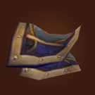 Bravo Company Monnions, Broadleaf Mantle, Manager's Mantle, Khaz Modan Spaulders, Glyphed Epaulets Model