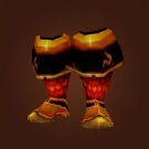Battleforge Boots, Blood Knight Boots, Duro Footgear Model