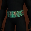 Venomtail Belt, Sunheart Waistband, Kun-Lai Climbing Belt, Spirit-Speaking Belt, Belt of Singed Shame, Belt of Totemic Binding, Contender's Scale Belt, Sunheart Waistband, Belt of Totemic Binding Model
