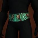 Venomtail Belt, Sunheart Waistband, Kun-Lai Climbing Belt, Spirit-Speaking Belt, Belt of Singed Shame, Belt of Totemic Binding, Contender's Scale Belt, Sunheart Waistband, Belt of Totemic Binding Model