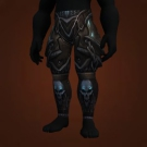 Valorous Darkruned Legguards, Valorous Darkruned Legplates Model