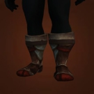 Wasteland Burnished Greaves, Wasteland Heavy Warboots, Wasteland Armored Warboots Model
