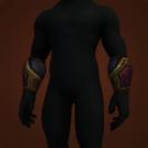 Serrated Forearm Guards, Braided Black and White Bracer, Bonded Soul Bracers, Elder Tortoiseshell Vambraces, Cliffbreaker Vambraces Model
