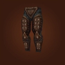 Daggercap Trousers, Winterfin Legguards, Grounded Pants, Iron-Studded Leggings, Rattlebore Slayer Leggings, Arctic Leggings, Skins of Subterfuge Model