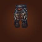 Crafted Malevolent Gladiator's Leather Legguards Model