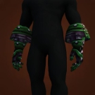Thick Scale Gauntlets Model
