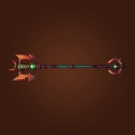Firestorm Greatstaff Model