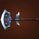 Bone Plate Axe, Ice-Splintering Axe Model