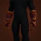 Scaled Draenic Gloves Model