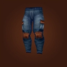 Scarecrow Trousers Model