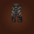Crafted Dreadful Gladiator's Leather Legguards Model