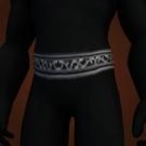 Silver-Lined Belt Model