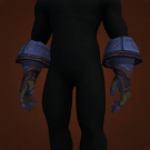 Tombstone Gauntlets, Rattling Gloves, Wormthorn Gloves, Wormthorn Gloves Model
