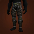 Titan-Forged Chain Leggings of Triumph, Relentless Gladiator's Chain Leggings Model