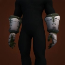 Alabaster Plate Gauntlets Model