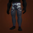 Titan-Forged Cloth Leggings of Salvation, Relentless Gladiator's Satin Leggings, Relentless Gladiator's Mooncloth Leggings Model