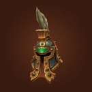 Crafted Malevolent Gladiator's Plate Helm Model