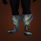 Polished Steel Boots Model