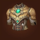 Crafted Malevolent Gladiator's Ornamented Chestguard Model