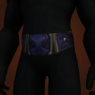 Frostwoven Belt, Dusk Watcher's Belt, Wrap of Vigorous Destruction, Braided Bat Sinew, Charmed Silken Cord, Deep Frozen Cord Model