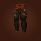 Furious Gladiator's Mooncloth Leggings, Furious Gladiator's Satin Leggings Model