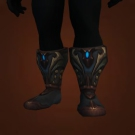 Interrogator's Bloody Footpads, Rooftop Griptoes, Molten Blood Footpads Model