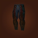 Leggings of Ebon Veins, Saddle-Scarred Leggings, Wisp-Weave Pantaloons, Leggings of Ebon Veins, Saddle-Scarred Leggings Model