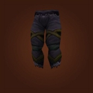 Nightsky Trousers, Opulent Leggings, Replica Legionnaire's Satin Trousers, Replica Legionnaire's Satin Legguards Model