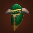 Green Iron Helm Model